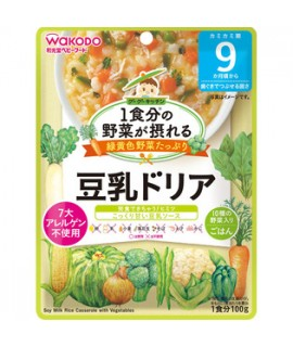 WAKODO 豆奶蔬菜燴飯 100g