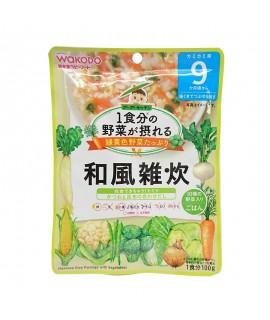 WAKODO 日式蔬菜燴飯 100g