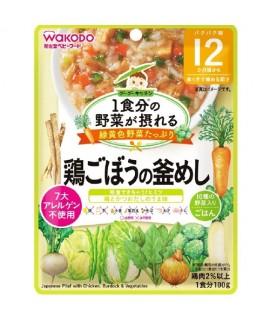 WAKODO 雞肉牛蒡蔬菜燴飯 100g