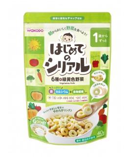 WAKODO 營養蔬菜麥圈 40g