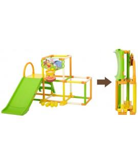 WORLD 小熊維尼-滑梯+攀爬架組合